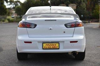 2016 Mitsubishi Lancer CF MY16 GSR White 6 Speed Constant Variable Sedan