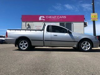 2005 Ford Falcon BF XL Ute Super Cab Silver 4 Speed Automatic Utility.