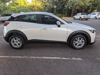 2018 Mazda CX-3 DK2W7A Maxx SKYACTIV-Drive White 6 Speed Sports Automatic Wagon