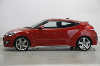 2013 Hyundai Veloster FS2 SR Coupe Turbo Veloster Red 6 Speed Sports Automatic Hatchback.