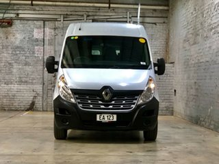 2018 Renault Master X62 Mid Roof MWB AMT White 6 Speed Sports Automatic Single Clutch Van.