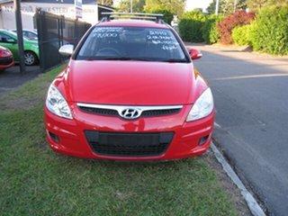 2010 Hyundai i30 FD MY10 CW SX 2.0 Red 5 Speed Manual Wagon.