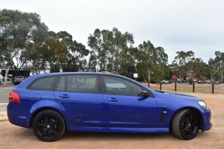 2016 Holden Commodore VF II MY16 SV6 Sportwagon Black Blue 6 Speed Sports Automatic Wagon