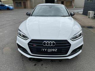 2017 Audi S5 F5 MY18 Tiptronic Quattro White 8 Speed Sports Automatic Coupe.