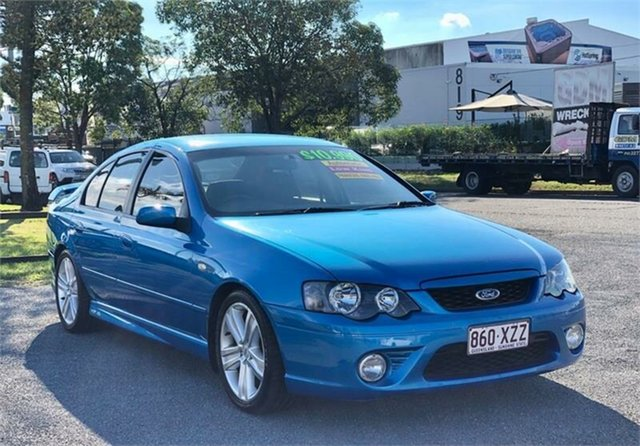 Used Ford Falcon BA XR6 Archerfield, 2003 Ford Falcon BA XR6 Blue 4 Speed Sports Automatic Sedan