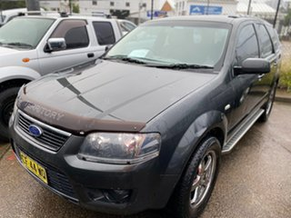 2009 Ford Territory SY MkII TX Grey 4 Speed Sports Automatic Wagon.