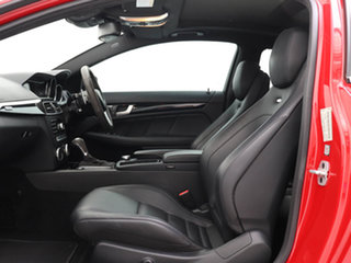 2015 Mercedes-Benz C63 W204 MY14 AMG Edition 507 Red 7 Speed Automatic G-Tronic Coupe