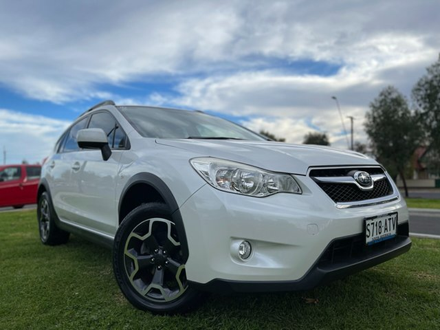 Used Subaru XV G4X MY12 2.0i-L Lineartronic AWD Hindmarsh, 2012 Subaru XV G4X MY12 2.0i-L Lineartronic AWD White 6 Speed Constant Variable Wagon