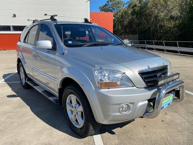 Used Kia Sorento BL EX Morayfield, 2008 Kia Sorento BL EX Silver 5 Speed Automatic Wagon
