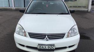 2007 Mitsubishi Lancer CH MY07 ES White 4 Speed Sports Automatic Sedan