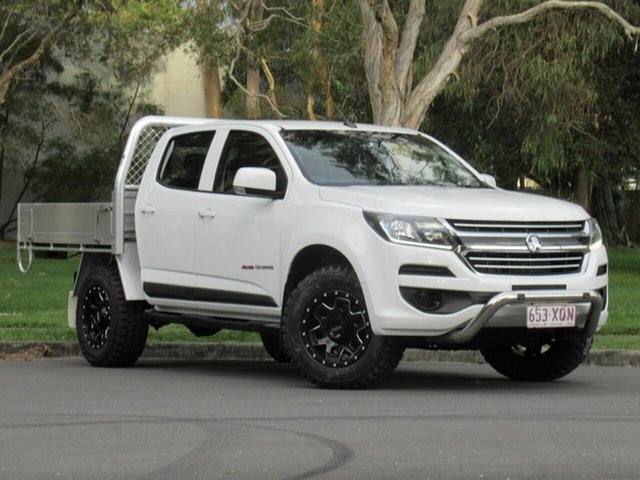 Used Holden Colorado RG MY17 LS Crew Cab, 2017 Holden Colorado RG MY17 LS Crew Cab White 6 Speed Sports Automatic Cab Chassis