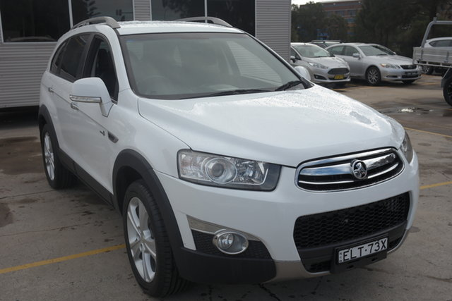 Used Holden Captiva CG MY10 LX AWD Maryville, 2011 Holden Captiva CG MY10 LX AWD White 5 Speed Sports Automatic Wagon
