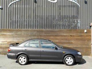 2002 Nissan Pulsar N16 Q Grey 4 Speed Automatic Sedan.