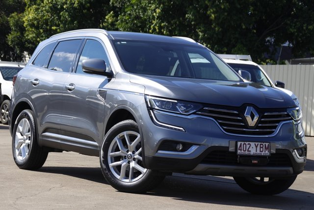 Used Renault Koleos HZG Zen X-tronic Bundamba, 2018 Renault Koleos HZG Zen X-tronic Grey 1 Speed Constant Variable Wagon