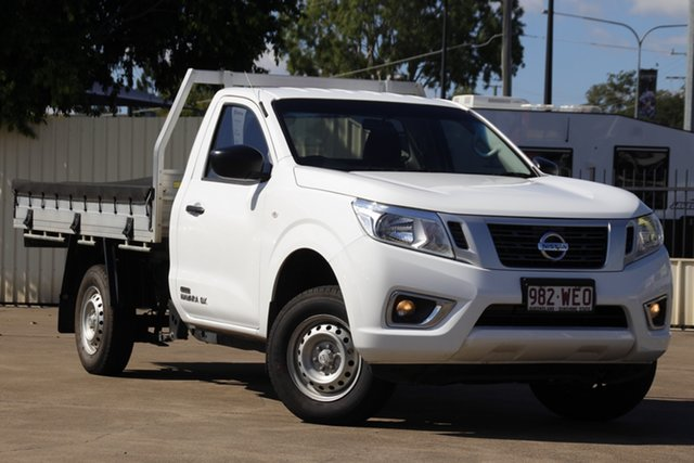 Used Nissan Navara D23 DX 4x2 Bundamba, 2015 Nissan Navara D23 DX 4x2 Polar White 6 Speed Manual Cab Chassis