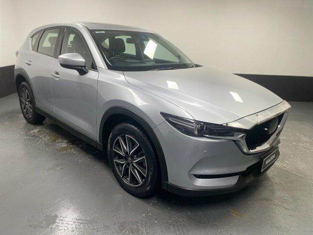 Used Mazda CX-5 KF4W2A Akera SKYACTIV-Drive i-ACTIV AWD Cardiff, 2018 Mazda CX-5 KF4W2A Akera SKYACTIV-Drive i-ACTIV AWD Silver 6 Speed Sports Automatic Wagon