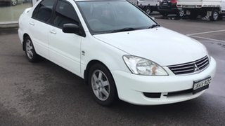 2007 Mitsubishi Lancer CH MY07 ES White 4 Speed Sports Automatic Sedan