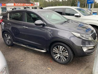 2014 Kia Sportage SL MY14 Platinum AWD Grey 6 Speed Sports Automatic Wagon.