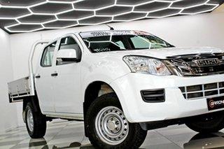 2016 Isuzu D-MAX TF MY15 SX (4x2) White 5 Speed Automatic Crew Cab Chassis.