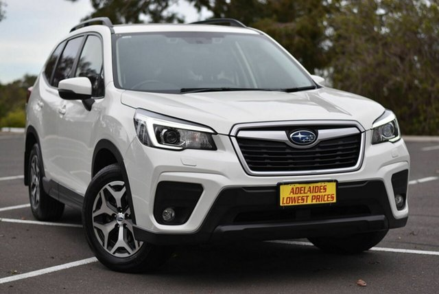 Used Subaru Forester S5 MY19 2.5i CVT AWD Enfield, 2018 Subaru Forester S5 MY19 2.5i CVT AWD White 7 Speed Constant Variable Wagon