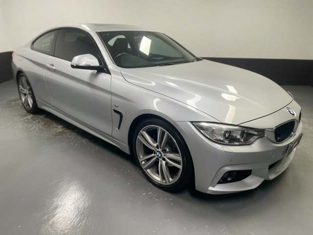 Used BMW 4 Series F32 420i M Sport Newcastle West, 2014 BMW 4 Series F32 420i M Sport Silver 8 Speed Sports Automatic Coupe