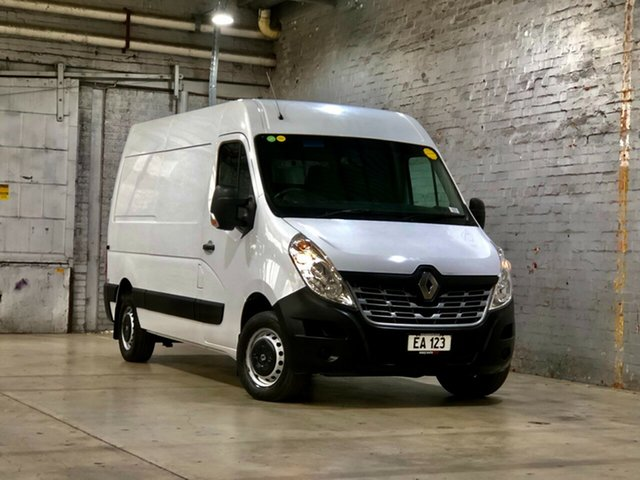 Used Renault Master X62 Mid Roof MWB AMT Mile End South, 2018 Renault Master X62 Mid Roof MWB AMT White 6 Speed Sports Automatic Single Clutch Van