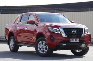 2020 Nissan Navara D23 S4 MY20 ST Burning Red 7 Speed Sports Automatic Utility.