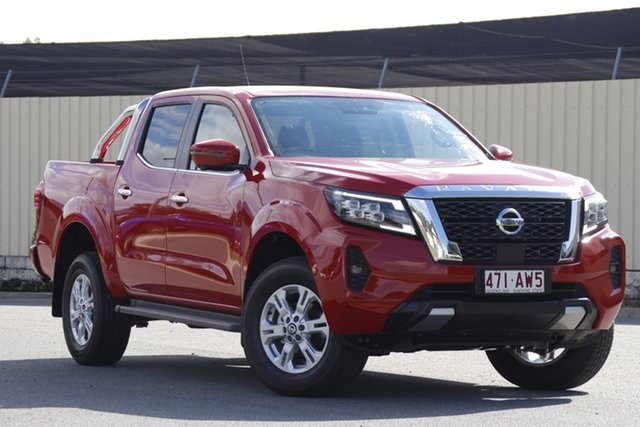 Demo Nissan Navara D23 MY21 ST Bundamba, 2021 Nissan Navara D23 MY21 ST Burning Red 7 Speed Sports Automatic Utility