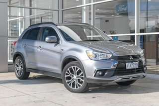 2017 Mitsubishi ASX XC MY17 LS 2WD Silver 6 Speed Constant Variable Wagon.