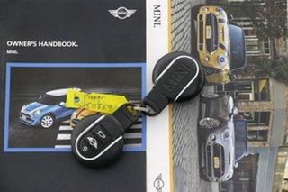 2017 Mini Cooper F56 S Blue 6 Speed Automatic Hatchback