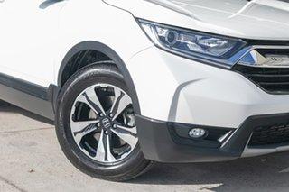 2017 Honda CR-V RW MY18 VTi FWD White 1 Speed Constant Variable Wagon.