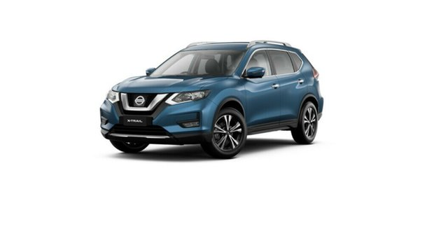 New Nissan X-Trail T32 MY21 ST-L X-tronic 2WD Moorooka, 2021 Nissan X-Trail T32 MY21 ST-L X-tronic 2WD Marine Blue 7 Speed Constant Variable Wagon