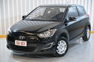 2013 Hyundai i20 PB MY14 Active Black 6 Speed Manual Hatchback.
