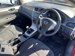 2013 Nissan Pulsar B17 ST Red Pm 6 Speed Manual Sedan.
