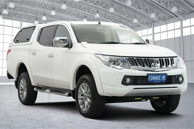 Used Mitsubishi Triton MQ MY17 GLX+ Double Cab Victoria Park, 2016 Mitsubishi Triton MQ MY17 GLX+ Double Cab White 5 Speed Sports Automatic Utility