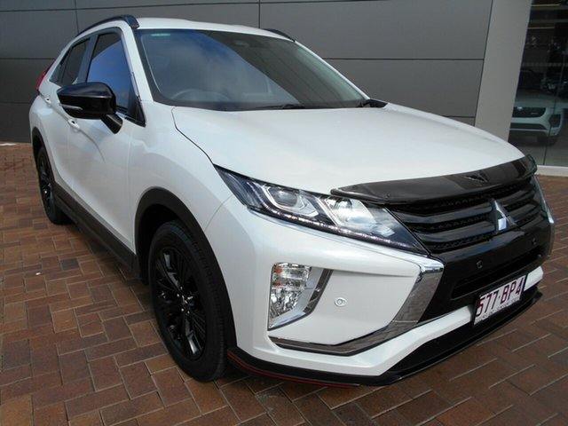 Used Mitsubishi Eclipse Cross YA MY18 ES 2WD Toowoomba, 2018 Mitsubishi Eclipse Cross YA MY18 ES 2WD White 8 Speed Constant Variable Wagon