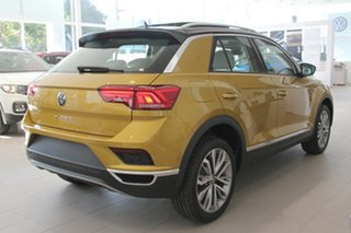 2020 Volkswagen T-ROC A1 MY21 110TSI Style Yellow 8 Speed Sports Automatic Wagon.