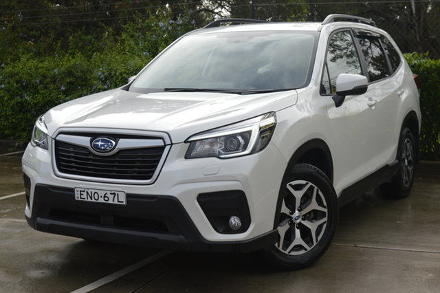 Used Subaru Forester S5 MY19 2.5i CVT AWD Maitland, 2019 Subaru Forester S5 MY19 2.5i CVT AWD White 7 Speed Constant Variable Wagon