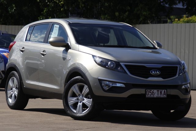 Used Kia Sportage SL Series II MY13 SI Bundamba, 2013 Kia Sportage SL Series II MY13 SI Champagne 6 Speed Sports Automatic Wagon