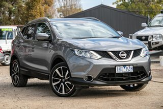 2016 Nissan Qashqai J11 TL Grey 1 Speed Constant Variable Wagon.