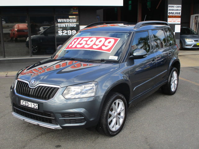 Used Skoda Yeti 5L MY15 Active 77 TSI (4x2) Coffs Harbour, 2015 Skoda Yeti 5L MY15 Active 77 TSI (4x2) Grey 7 Speed Auto Direct Shift Wagon