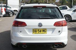 2015 Volkswagen Golf VII MY16 R DSG 4MOTION Wolfsburg Edition Oryx White 6 Speed