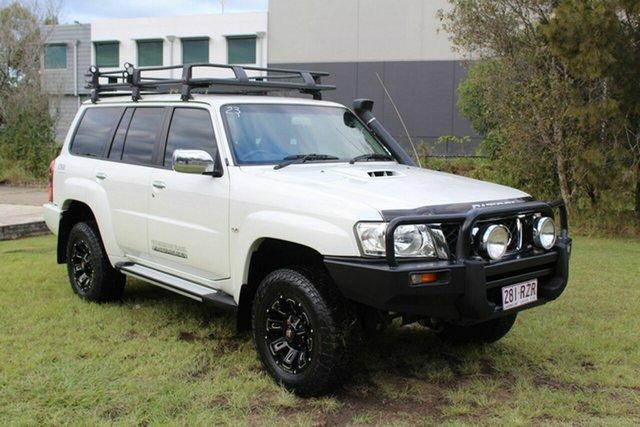 Used Nissan Patrol GU 7 MY10 ST Ormeau, 2011 Nissan Patrol GU 7 MY10 ST White 4 Speed Automatic Wagon