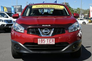 2013 Nissan Dualis J107 Series 4 MY13 +2 Hatch X-tronic 2WD ST Red 6 Speed Constant Variable