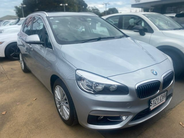 Used BMW 2 Series F45 218i Active Tourer Steptronic Sport Line Hillcrest, 2015 BMW 2 Series F45 218i Active Tourer Steptronic Sport Line Silver 6 Speed Automatic Hatchback