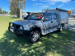 2006 Holden Rodeo RA MY06 LT Crew Cab Silver 5 Speed Manual Utility.