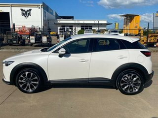 2019 Mazda CX-3 DK4W7A sTouring SKYACTIV-Drive i-ACTIV AWD White/310519 6 Speed Sports Automatic