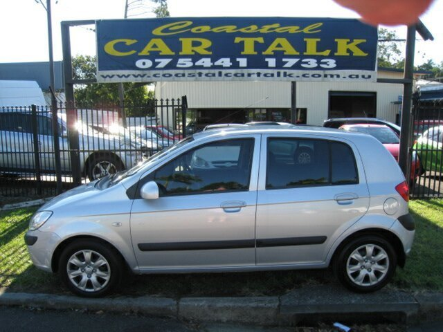 Used Hyundai Getz TB MY09 SX Nambour, 2010 Hyundai Getz TB MY09 SX Silver 5 Speed Manual Hatchback