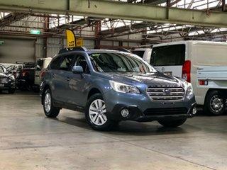 2015 Subaru Outback B6A MY15 2.0D CVT AWD Grey 7 Speed Constant Variable Wagon.