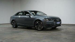 2016 Audi A4 B9 8W MY16 Sport S Tronic Monsoon Grey 7 Speed Sports Automatic Dual Clutch Sedan.
